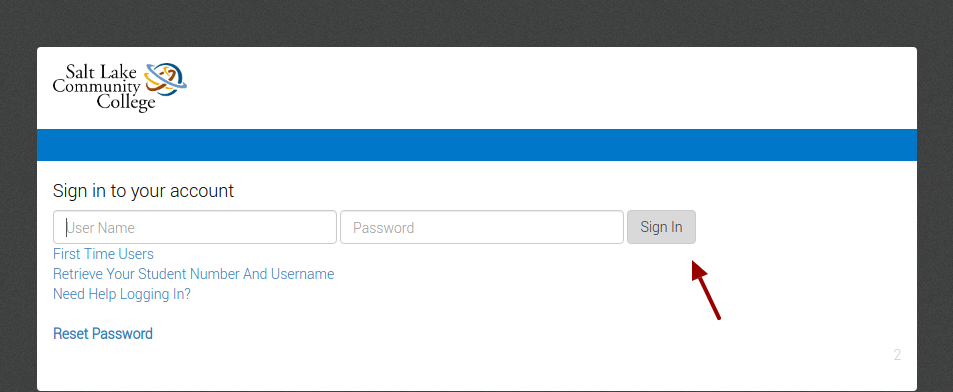SLCC Secure Authentication Login