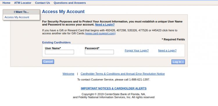Access My Account