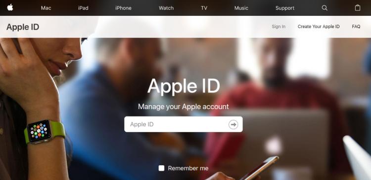 Apple ID Logo