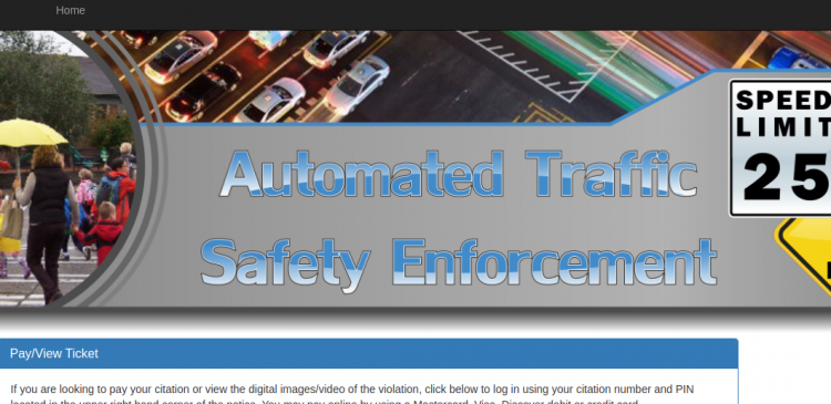 IP360 web pay traffic ticket pay Logo
