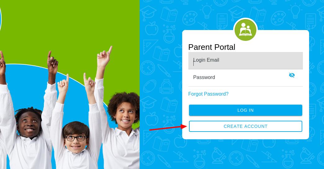 NHA Parent Create Account