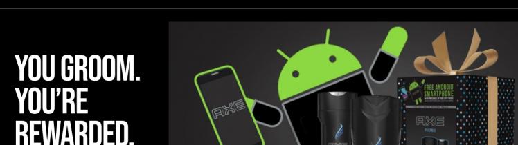 AXE ultimate phone pack Logo