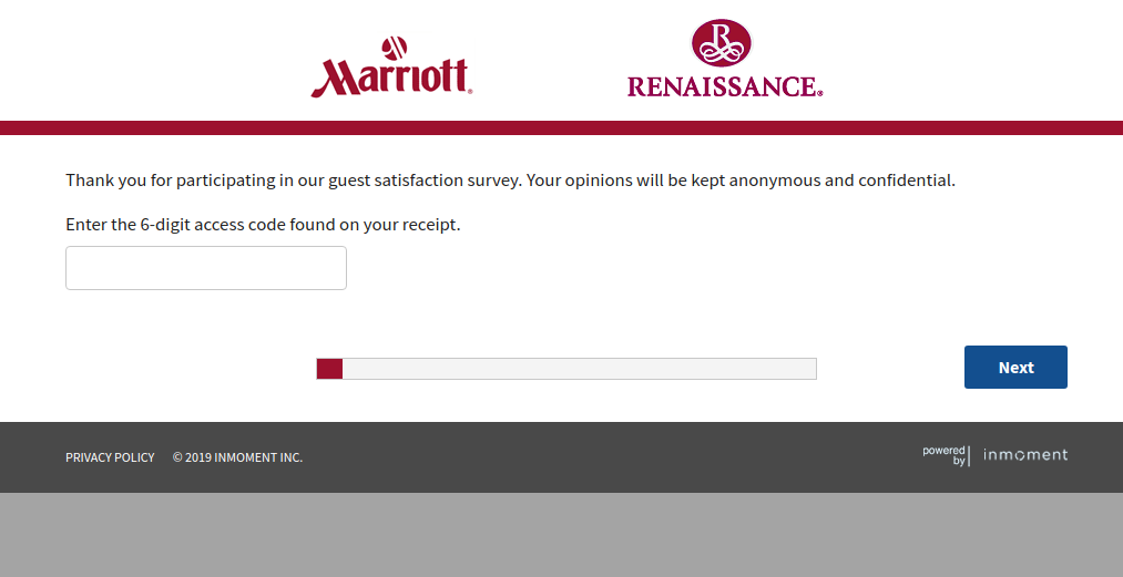 Marriott Renaissance Survey