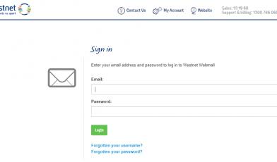 Westnet Webmail Login