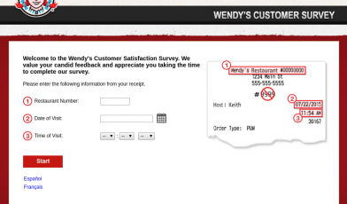 Wendy Survey