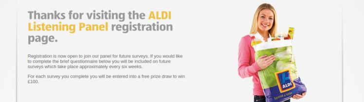 aldi survey