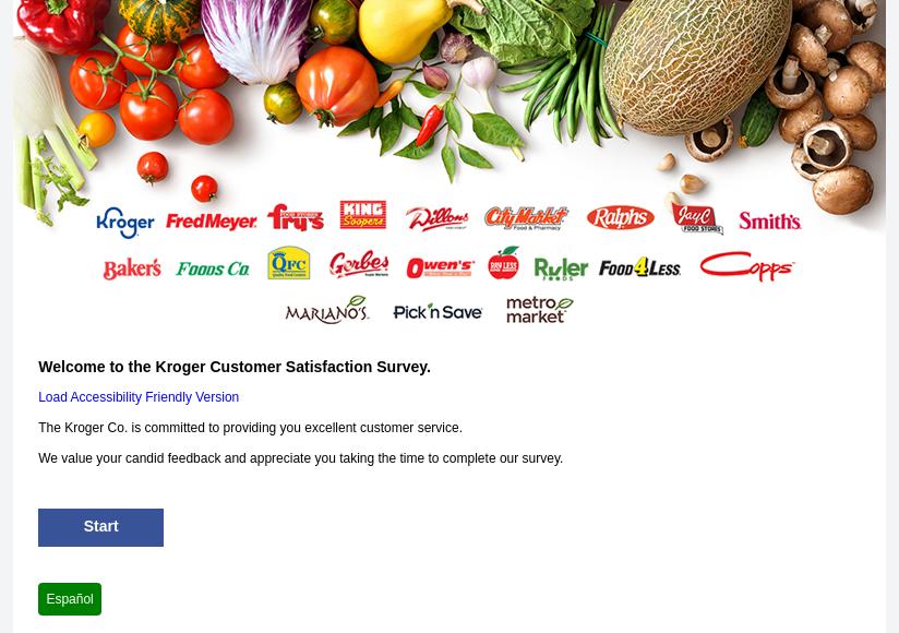 Kroger Customer Satisfaction Survey
