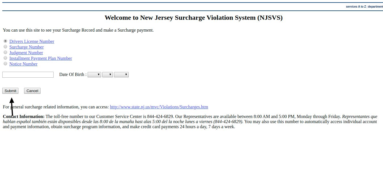 NJSVS - Pay By Web