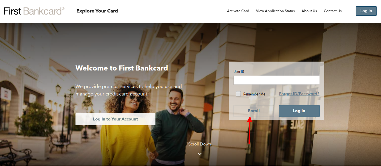 First Bankcard Enroll