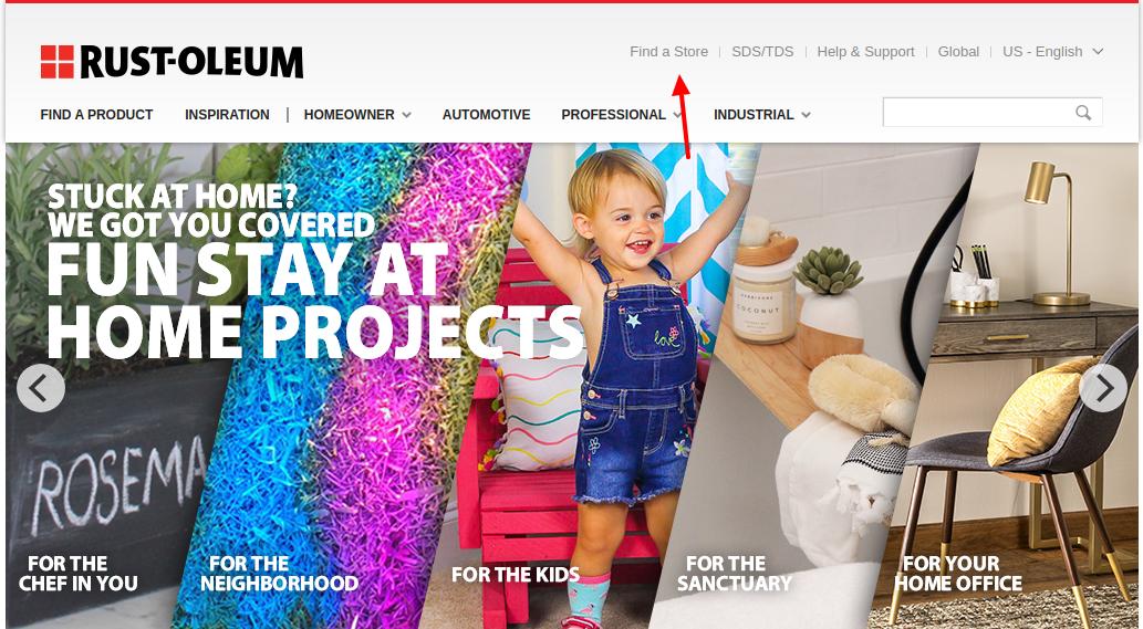 Rust Oleum Spray Find Store
