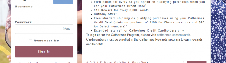 Catherines Credit Card Logo