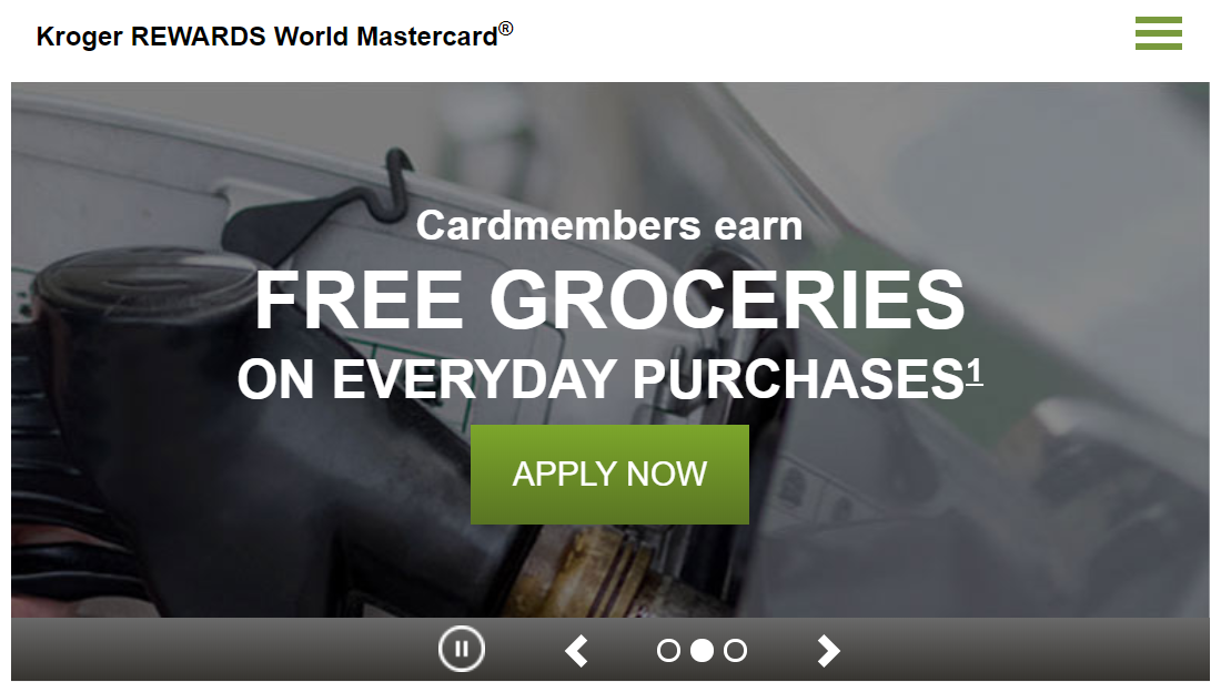Kroger REWARDS World Mastercard Apply