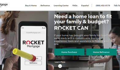 Rocket Mortgage Logo