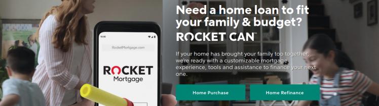 Rocket Mortgage Logo