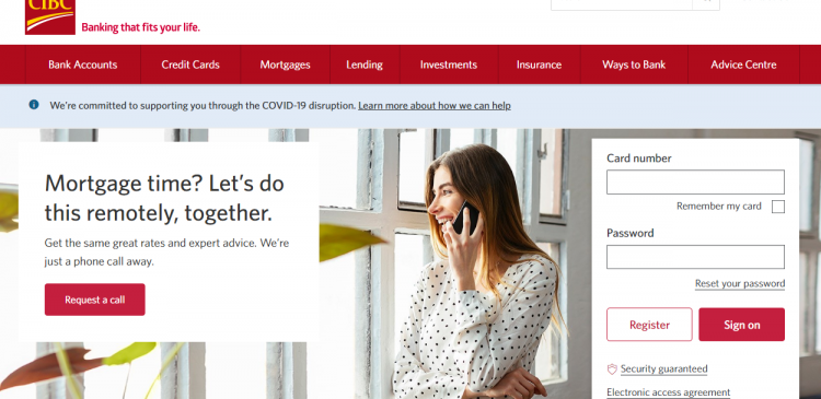 Activate CIBC Credit Card