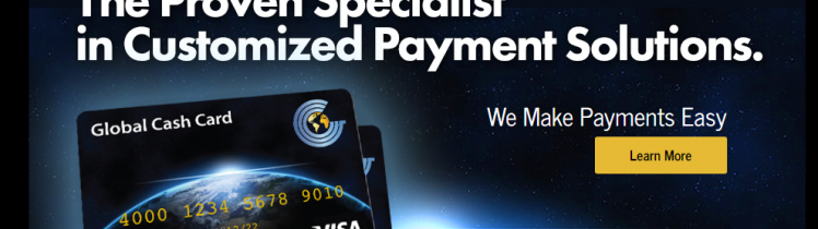 Activating Global Cash Card