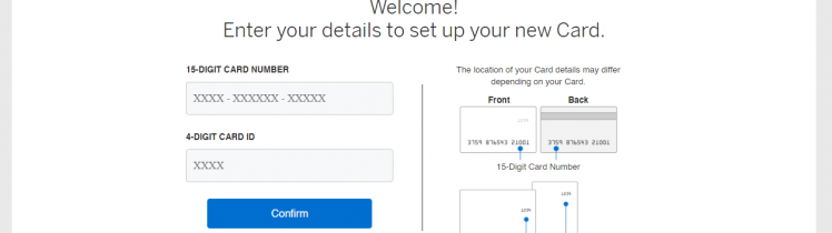 American Express Card Activation Process