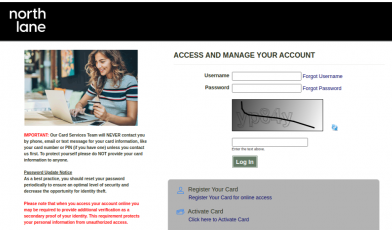 Prepaid Card Services Login