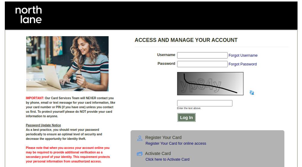 Prepaid Card Services Login