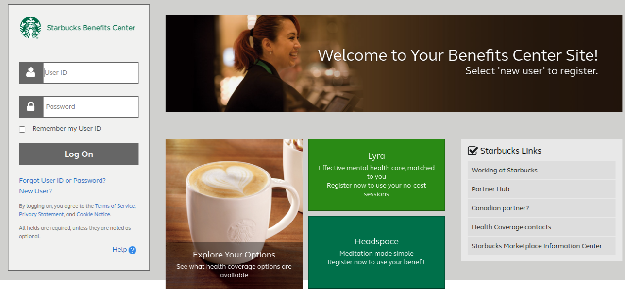 Starbucks Login
