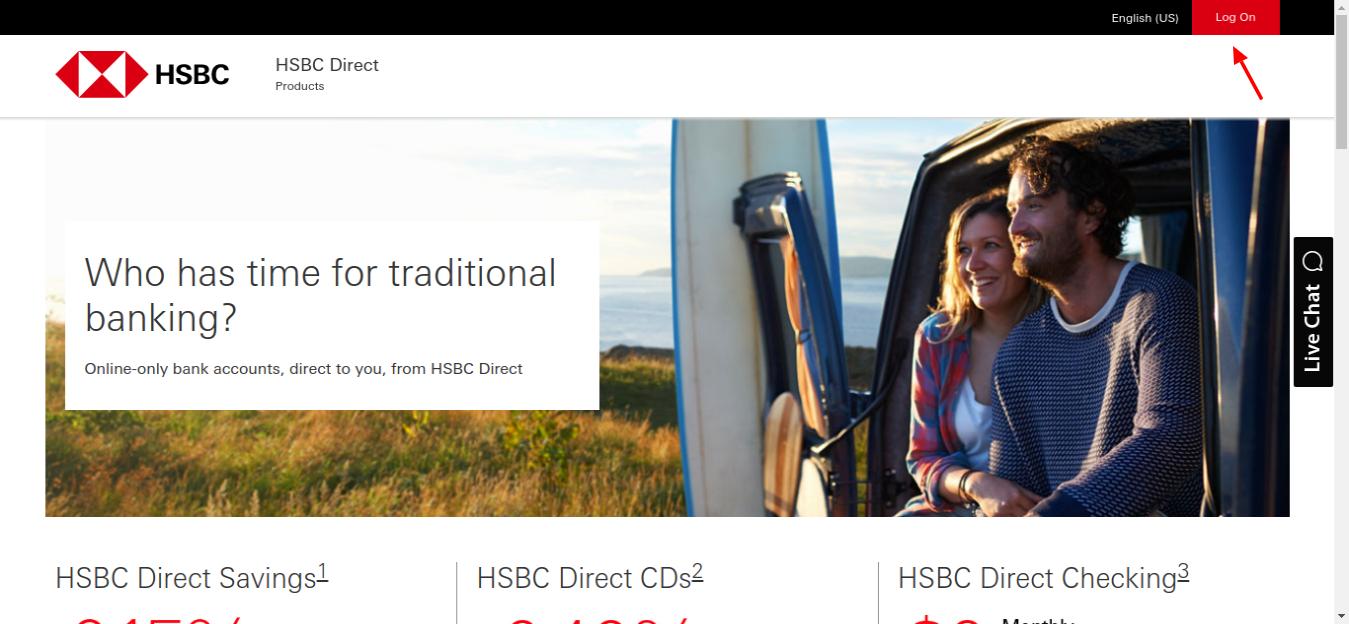HSBC Login