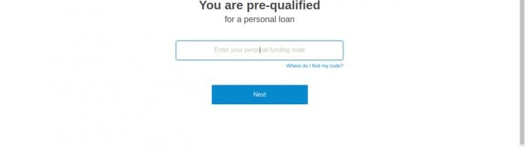 LendingClub Loan apply