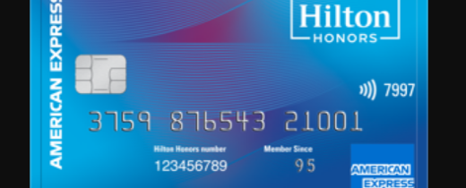 hilton honors card logo