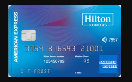 hilton honors card logo