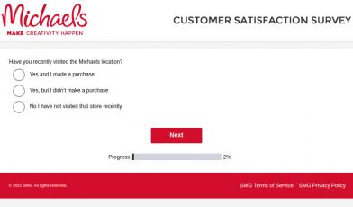 Michaels Customer Survey