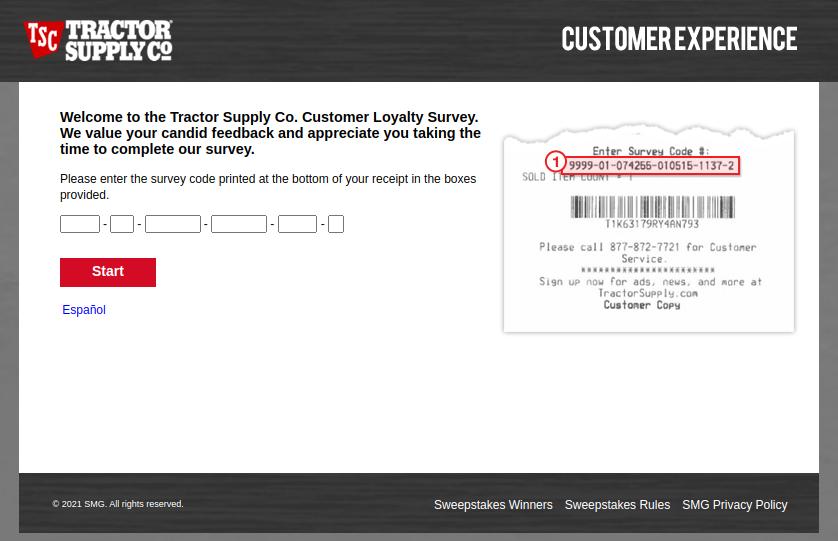 Tractor Supply Survey