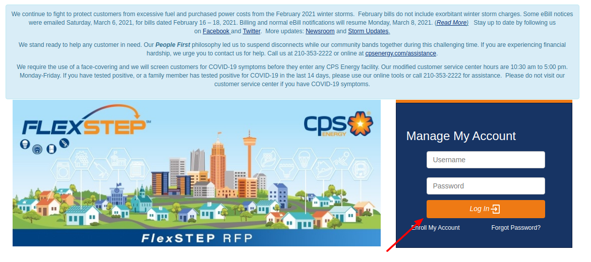 CPS Energy Login