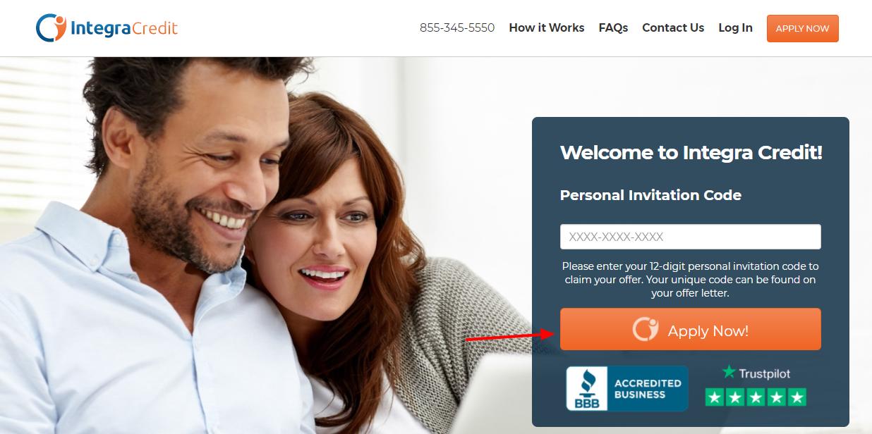 integra credit loan apply