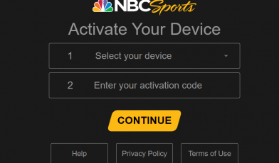 nbcsports activate