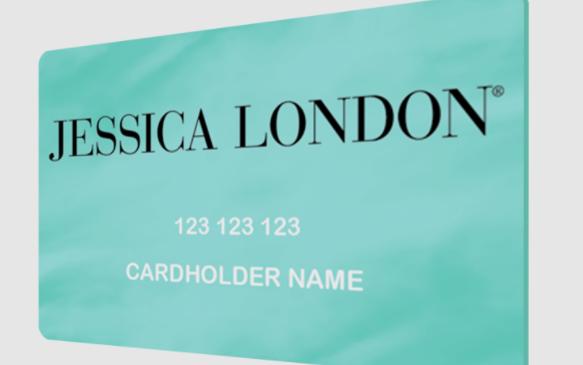 jessica london credit card logo
