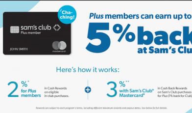 sams club credit card logo