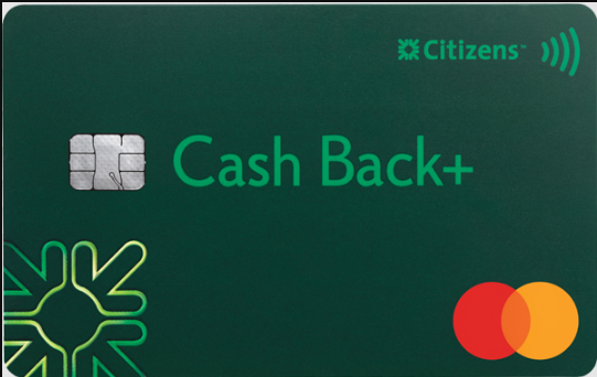 Citizens Bank Cash Back Plus card
