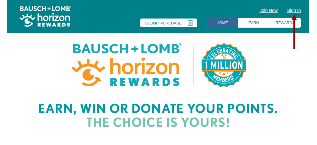 bausch and lomb login
